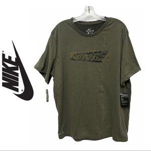 Nike Olive JDI Training Shirt